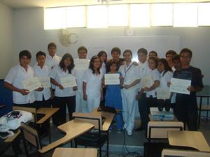 """Brigada de """"Educadores universitarios – Promotores de la salud"""" realizó una labor extraordinaria"""
